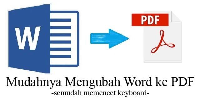 mengubah word ke pdf