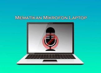 Cara mematikan mikrofon di Laptop Windows