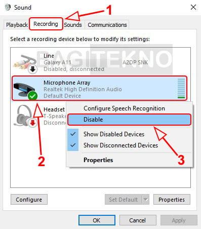 Cara mematikan mikrofon Laptop saat sedang zoom