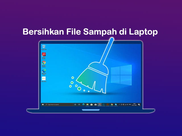 Cara membersihkan file sampah di Laptop Windows