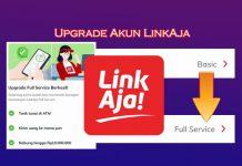 Cara upgrade akun LinkAja ke Full Service untuk penerima kartu prakerja